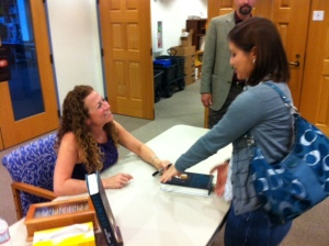 oh you know, just hanging out with my friend Jodi Picoult :)
